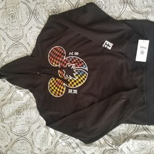 Disney Neff Collab Hoodie Mickey Mouse Logo Size L